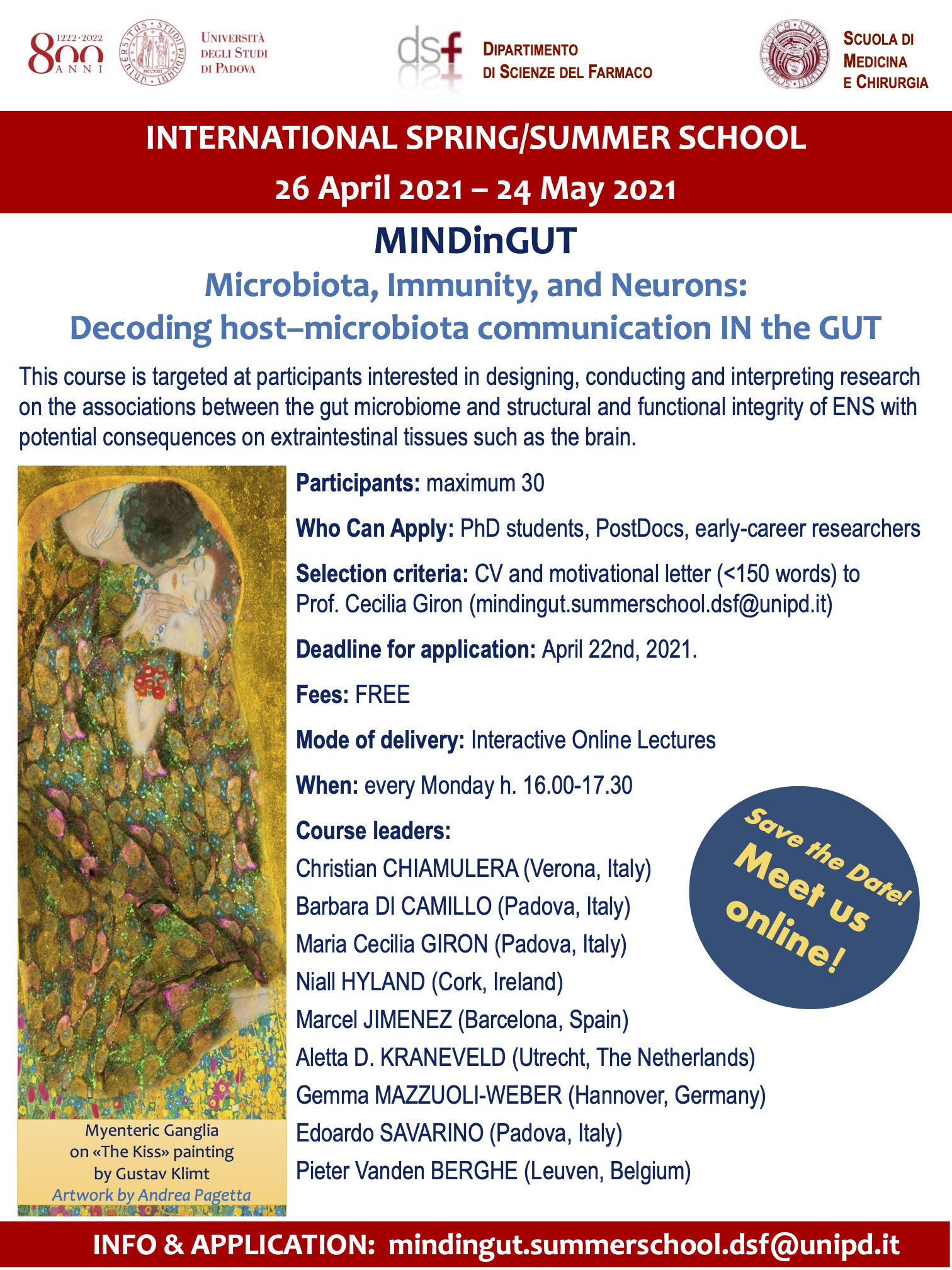Microbiota, Immnity and Neurons: Decoding host-microbiota communication IN the GUT