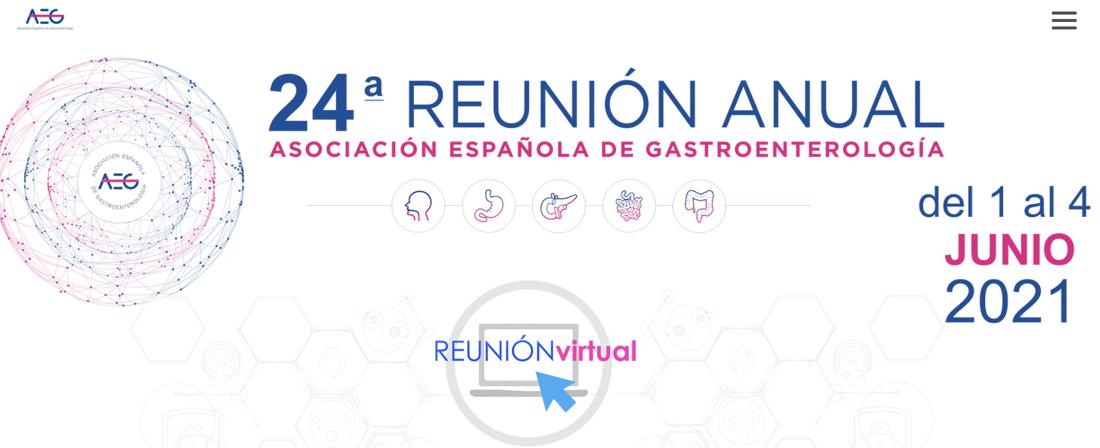 24ª Reunión Anual de la Asociación Española de Gastroenterología